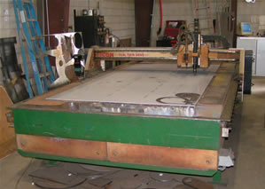 200 amp CNC Plasma Table