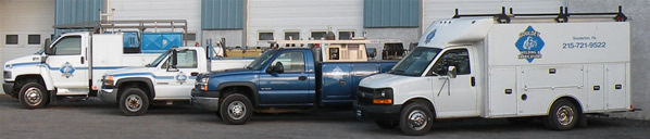 fully equipped welding and fabrication trucks